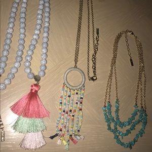 Sugarfix By Baublebar Necklace Bundle Set of 3